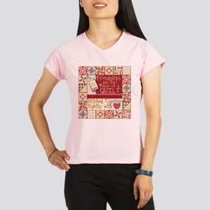 Quilting Friendships Performance Dry T-Shirt