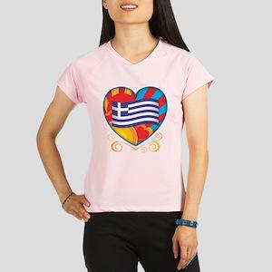 heartGREECE Performance Dry T-Shirt