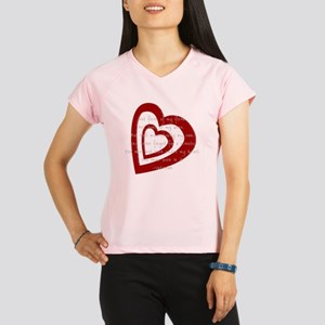 in my heart- adoptive mom Performance Dry T-Shirt