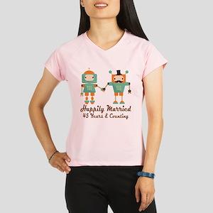 45th Anniversary Vintage R Performance Dry T-Shirt