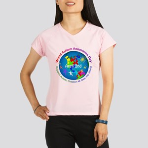 World Autism Awareness Day Performance Dry T-Shirt