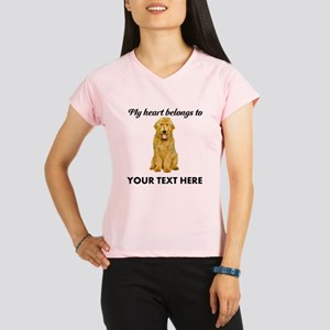 Personalized Goldendoodle Performance Dry T-Shirt