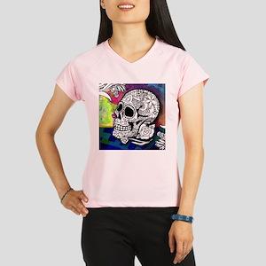 Sugar Skulls Color Splash Performance Dry T-Shirt