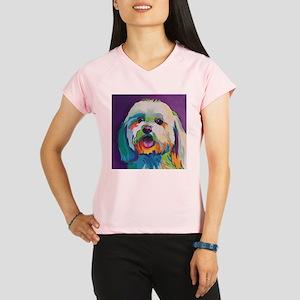 Dash the Pop Art Dog Performance Dry T-Shirt