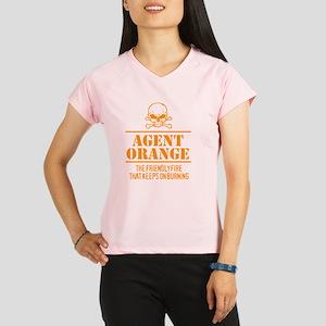 Agent Orange Humor Performance Dry T-Shirt