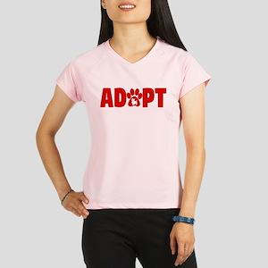 Cute Pets Paw Cat Dog Adop Performance Dry T-Shirt