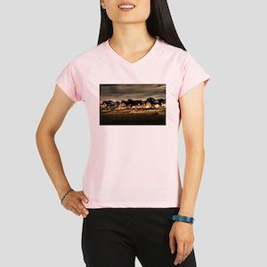 Wild Horses Running Free Performance Dry T-Shirt
