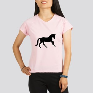 Cantering Horse Performance Dry T-Shirt