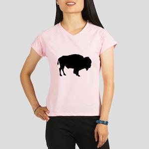 Buffalo Silhouette Performance Dry T-Shirt
