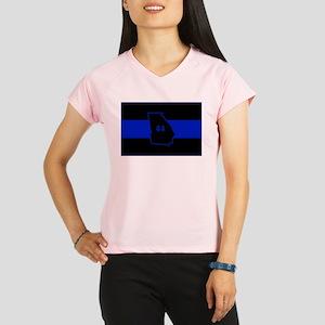 Thin Blue Line - Georgia Performance Dry T-Shirt