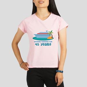 45th Anniversary Cruise Performance Dry T-Shirt