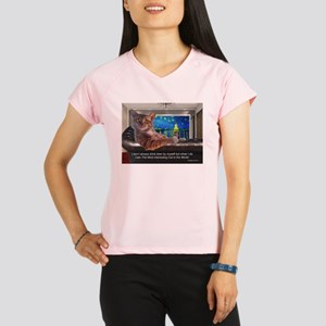 Most Interesting Cat Performance Dry T-Shirt