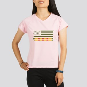 Vietnam Veteran Flag Performance Dry T-Shirt