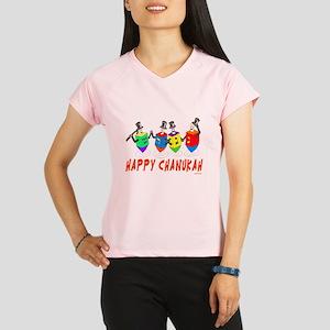 Happy Hanukkah Dancing Dre Performance Dry T-Shirt