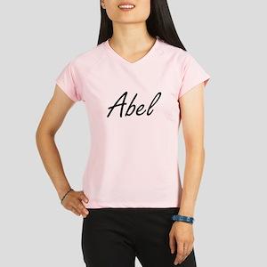 Abel Artistic Name Design Performance Dry T-Shirt