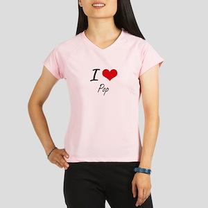 I Love Pop Performance Dry T-Shirt
