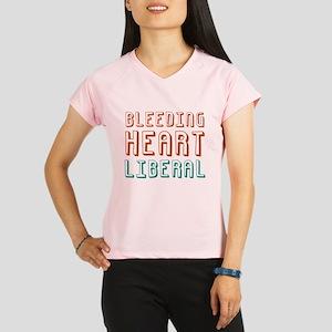 Bleeding Heart Liberal Performance Dry T-Shirt