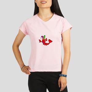 MARDI GRAS CRAWFISH Performance Dry T-Shirt