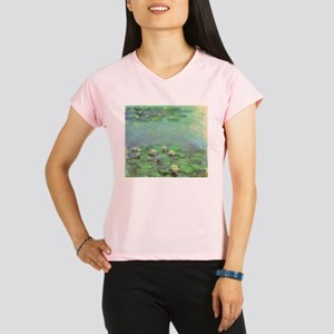 Waterlilies by Claude Mone Performance Dry T-Shirt