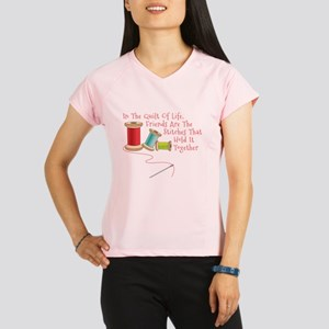 Quilt of Life Performance Dry T-Shirt