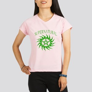 Supernatural Green Peformance Dry T-Shirt