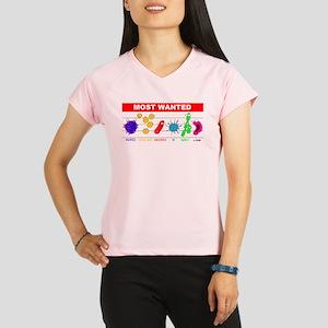 5-4-3-wantedneww Performance Dry T-Shirt