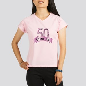 50 & Fabulous Diamonds Performance Dry T-Shirt