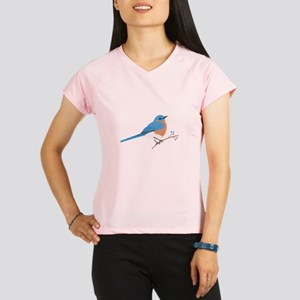 Eastern Bluebird Performance Dry T-Shirt