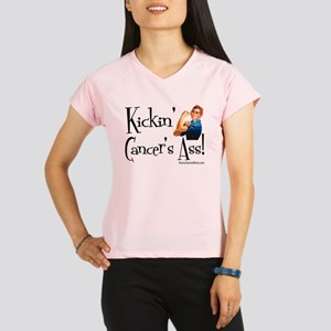 Kickin Cancers Ass! Performance Dry T-Shirt