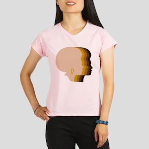 Women Afro Five Tones Performance Dry T-Shirt
