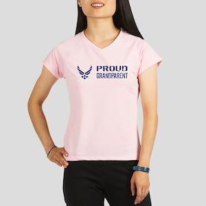 USAF: Proud Grandparent Performance Dry T-Shirt