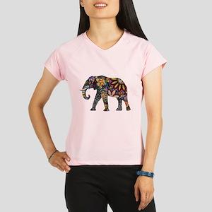 Colorful Elephant Performance Dry T-Shirt
