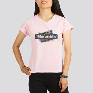 Memphis Design Performance Dry T-Shirt