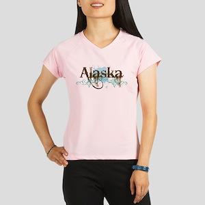 Alaska-brown-blue Performance Dry T-Shirt