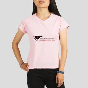 Adopt a Greyhound Performance Dry T-Shirt
