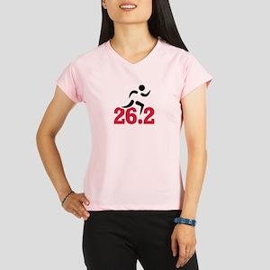 26.2 miles marathon runner Performance Dry T-Shirt