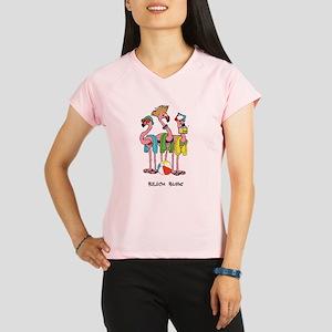 Flamingo Beach Bums Performance Dry T-Shirt