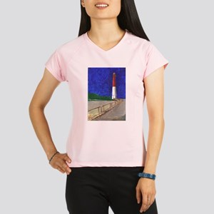 Old Barney Lighthouse Performance Dry T-Shirt