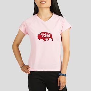 716 Buffalo Area Code Performance Dry T-Shirt