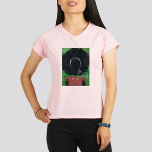 Girl with the Big Afro Performance Dry T-Shirt