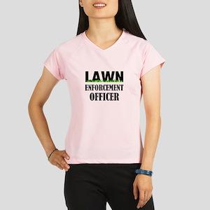 Lawn Enforcement Officer Performance Dry T-Shirt