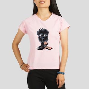 Affenpinscher Pattern Performance Dry T-Shirt