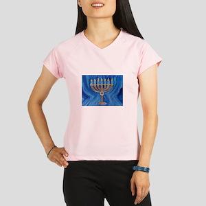HANUKKAH MENORAH Performance Dry T-Shirt