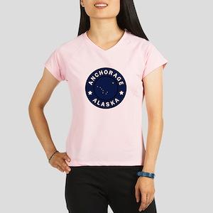Anchorage Alaska Performance Dry T-Shirt
