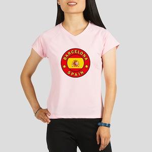 Barcelona Spain Performance Dry T-Shirt