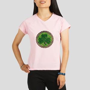 Shamrock And Celtic Knots Peformance Dry T-Shirt