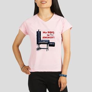 2-MyBBQisSmokin Performance Dry T-Shirt