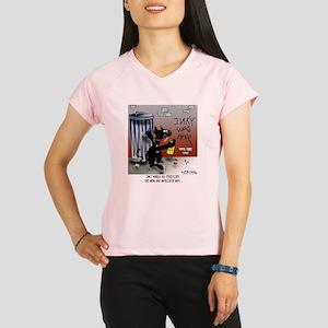 5677_cat_cartoon Performance Dry T-Shirt