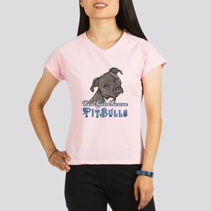 Real Girls Rescue Pitbulls Performance Dry T-Shirt