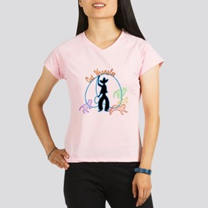 Cat Wrangler dark Performance Dry T-Shirt